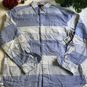 Nautica Slim Fit Size XL Long Sleeve Shirts Men.